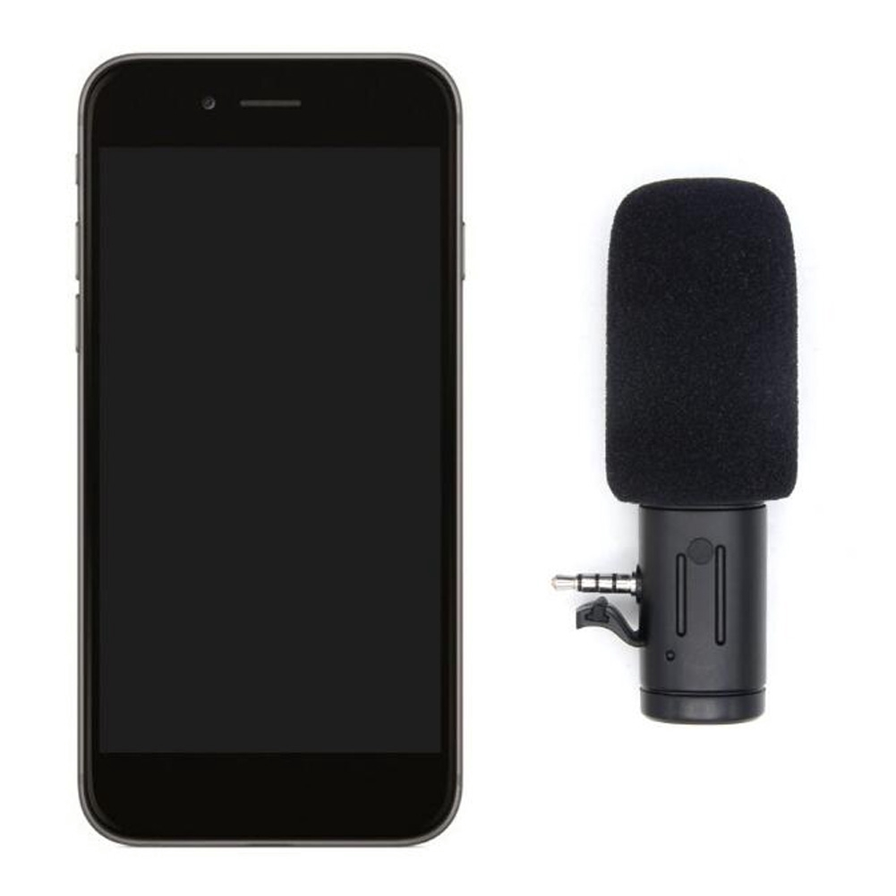 Plug And Play Stereo Mini Photography Use Portable Phone Camera Accessories External Microphone 3.5mm Sensitive