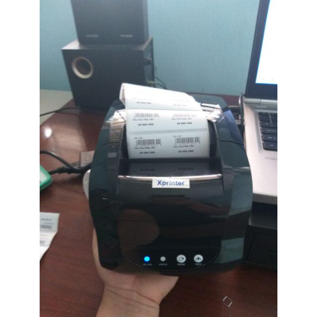 Máy In Tem Mã Vạch Xprinter XP 365B (2019) Giá chỉ 1.100.000₫
