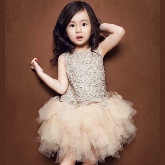 Váy công chúa cho b