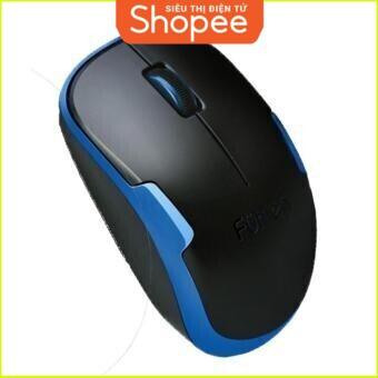 {SALE SIÊU KHỦNG} Chuột không dây thương hiệu Fuhlen A06G (Đen phối xanh) Giá chỉ 181.250₫