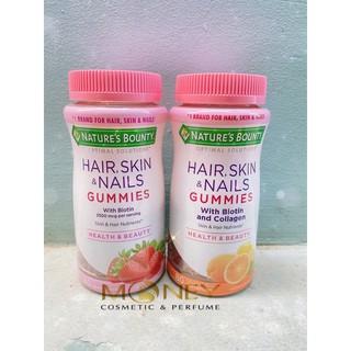 CÓ SẲN (Bill Us) Kẹo Dẻo Hair, Skin & Nails Gummies 80 Viên AUTHENTIC