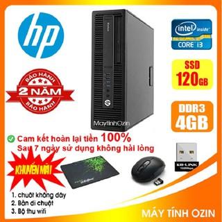 [RẺ VÔ ĐỊCH] Case máy tính để bàn đồng bộ HP CPU i3 4130 - RAM 4GB - SSD 240GB - SSD 120GB