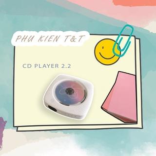 Máy nghe nhạc CD Player version 2.2 chính hãng KECAG bản sạc pin mới nhất - máy đọc đĩa CD, DVD, nghe nhạc BluetootKECAG thumbnail