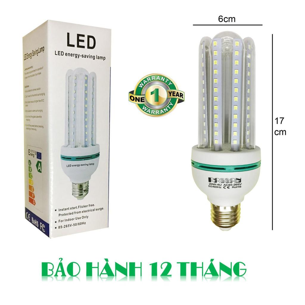 Bóng đèn LED chữ U 9w (Ánh sáng trắng)