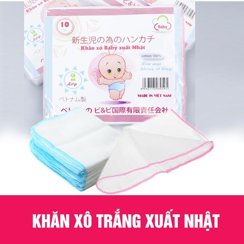 Combo 5 gói khăn sữa xô trắng xuất Nhật cao cấp 2 lớp ( 50 chiếc) - 3336528 , 1027863403 , 322_1027863403 , 199000 , Combo-5-goi-khan-sua-xo-trang-xuat-Nhat-cao-cap-2-lop-50-chiec-322_1027863403 , shopee.vn , Combo 5 gói khăn sữa xô trắng xuất Nhật cao cấp 2 lớp ( 50 chiếc)