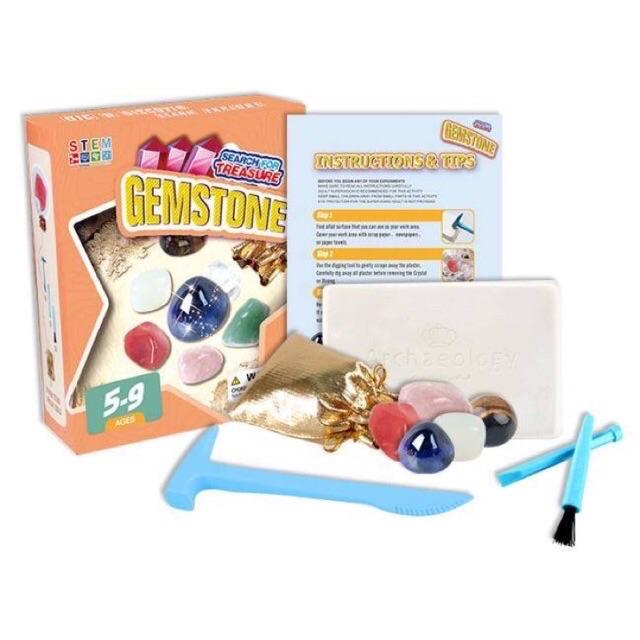 Bộ đồ chơi khai thác đá quý