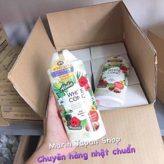 (Mẫu mới,Có sẵn) Sữa tắm dưỡng trắng da White Conc Body Vitamin C 360ml