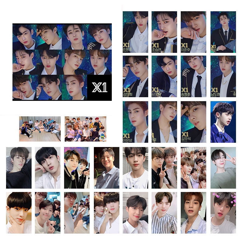 【KPOP】CIX DAY6 X1 Album LOMO Cards Fan Made