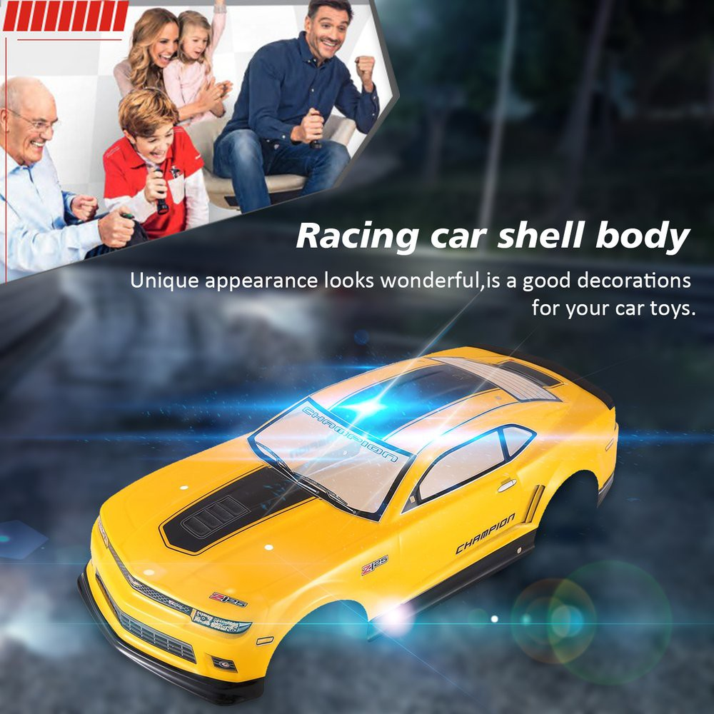 ✨chất lượng cao✨RC Car Shell Body for J601-7 1/10 RC Racing Car Flat Sports Drift Vehicle Toys