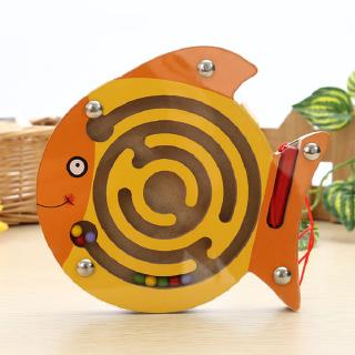 Baby Small Pen Labyrinth Puzzle Toy Cartoon Animal Magnetic Maze Toy Intellectual Development Games