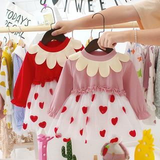 Váy thu đông bé gái - Váy thu đông cho bé gái 6-14kg