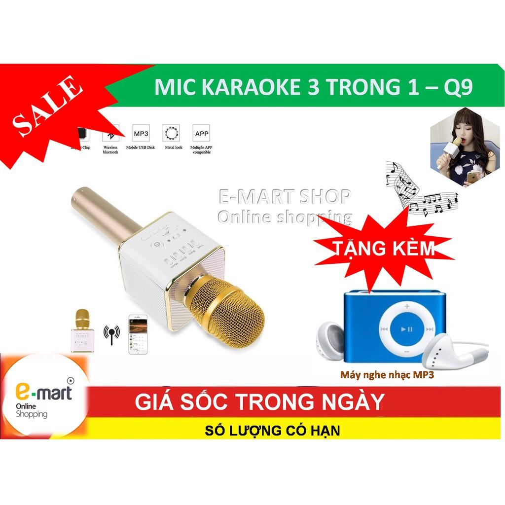 Micro KARAOKE Bluetooth Q9 kèm loa 3 trong 1 mới nhất + tặng máy nghe nhạc mp3 - 3353356 , 397438838 , 322_397438838 , 256000 , Micro-KARAOKE-Bluetooth-Q9-kem-loa-3-trong-1-moi-nhat-tang-may-nghe-nhac-mp3-322_397438838 , shopee.vn , Micro KARAOKE Bluetooth Q9 kèm loa 3 trong 1 mới nhất + tặng máy nghe nhạc mp3