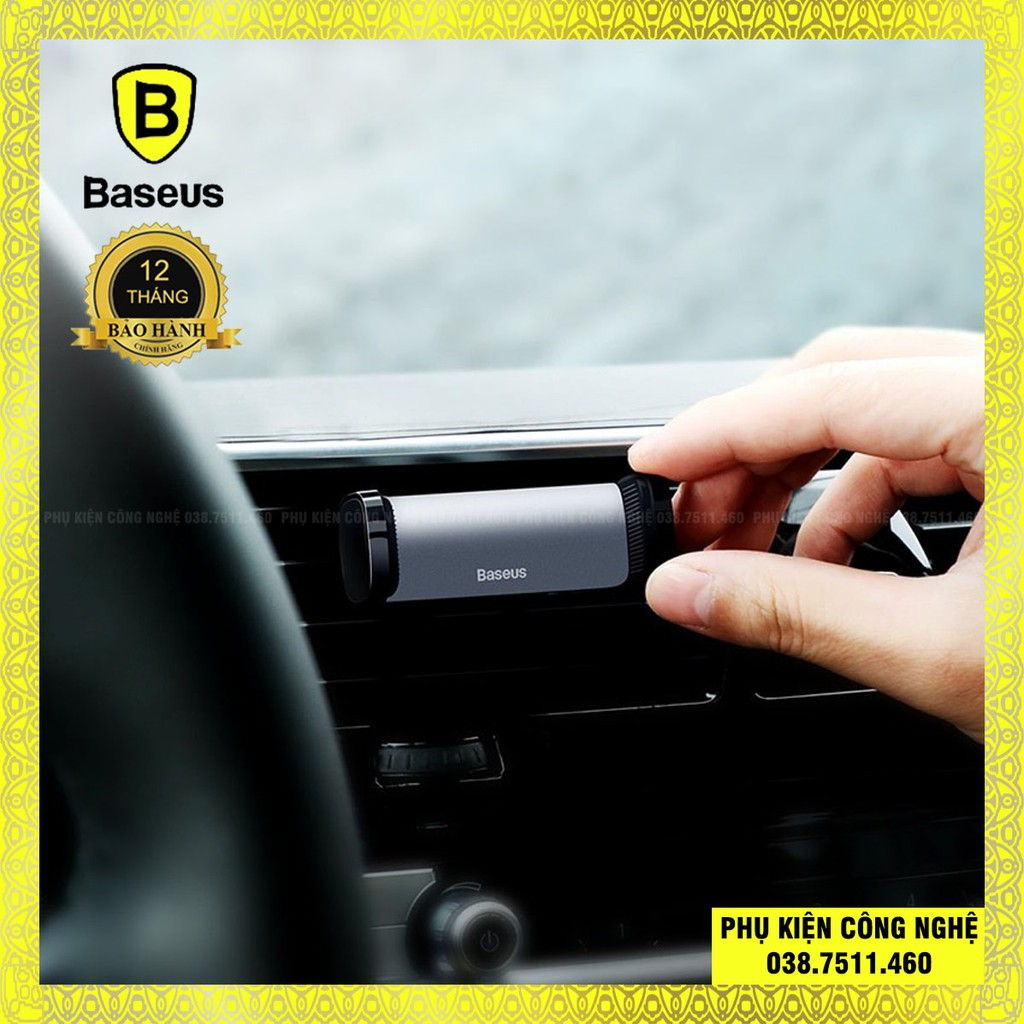 Kẹp điện thoại dùng cho xe hơi Baseus Steel Cannon Air Outlet Car Mount (nhỏ gọn , gắn khe gió)