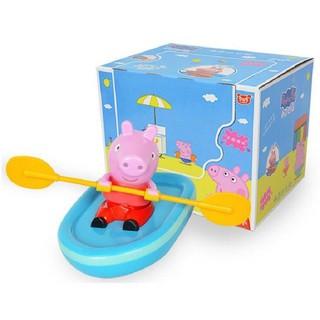Pig Peggy- chú lợn dễ thương chèo thuyền dễ thương cho bé