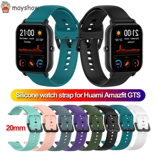 Dây đeo tay thay thế MAYSHOW 20mm cho đồng hồ thông minh Hua Amazfit GTS