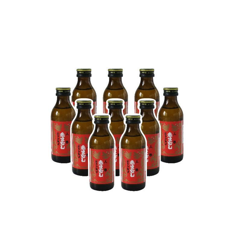 Hộp nước uống tăng cường sinh lực chiết xuất rắn lục chúa, nhân sâm ( 10 chai/hộp)