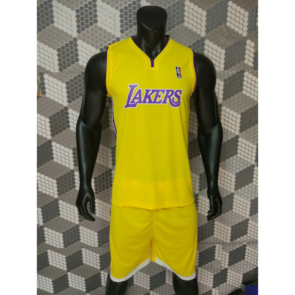 Quần áo bóng rổ Lakers vàng huyền thoại, chất đẹp. - 10013756 , 1272282957 , 322_1272282957 , 145000 , Quan-ao-bong-ro-Lakers-vang-huyen-thoai-chat-dep.-322_1272282957 , shopee.vn , Quần áo bóng rổ Lakers vàng huyền thoại, chất đẹp.