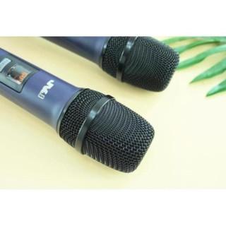 Bộ 2 Microphone không dây W 15 JVJ đa năng cao cấp