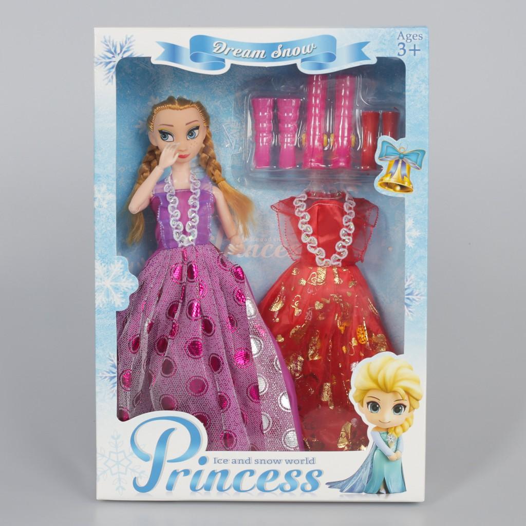 Đồ chơi búp bê Công Chúa Elsa và phụ kiện thay quần áo giày đang hot nhất 2020 - W078626