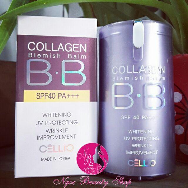 Kem nền BB Collagen Cellio - 2621128 , 244064425 , 322_244064425 , 230000 , Kem-nen-BB-Collagen-Cellio-322_244064425 , shopee.vn , Kem nền BB Collagen Cellio