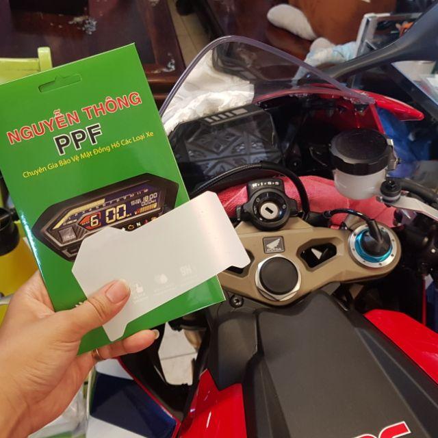 PPF CBR1000RR 2019 2020 PPF Bảo vệ mặt đồng hồ xe PKL Honda CBR1000RR