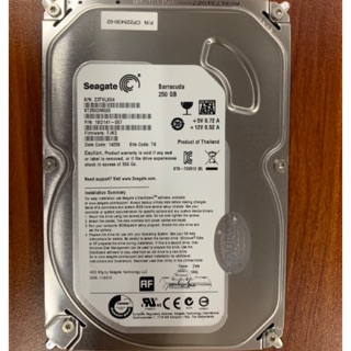 Ổ cứng HDD for PC Seagate Sata 250GB 7200rpm (Bạc)