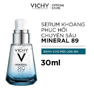 Dưỡng chất giàu khoáng chất Mineral 89 giúp da sáng mịn và căng mượt Vichy Mineral 89 30ml