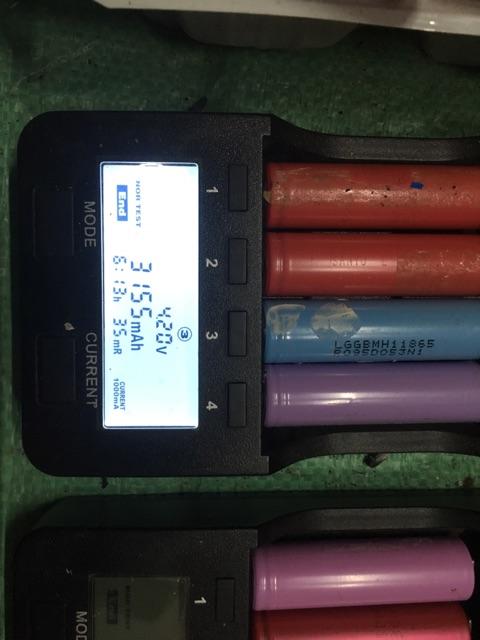 Cell pin LG, Panasonic cũ dung lượng trên 3.000mAh