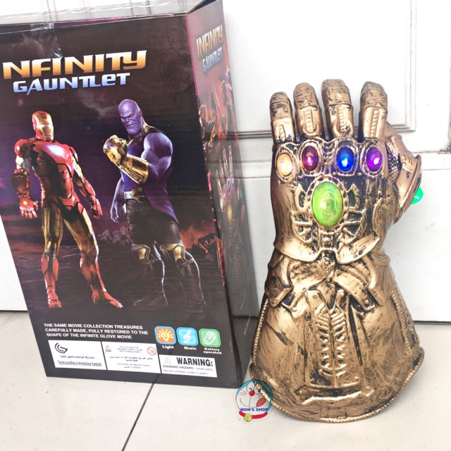 Găng tay Thanos – Găng tay vô cực, dùng pin, có âm thanh và ánh sáng