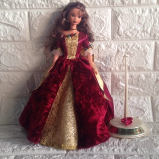 Búp bê barbie disney Belle chính hãng used
