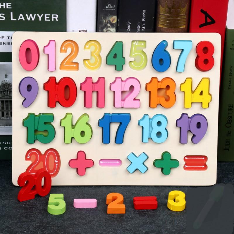 Combo 4 Bảng chữ cái bằng gỗ 3D – TG13