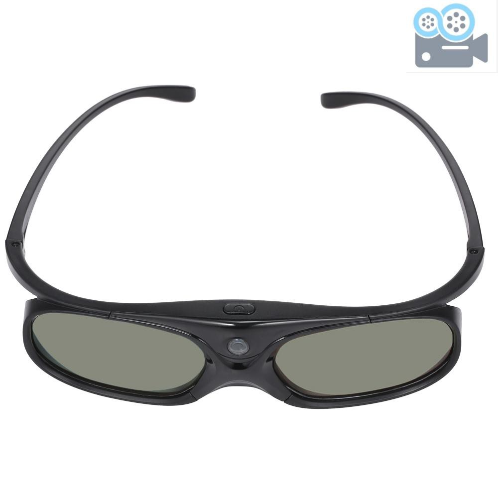 DLP Link 3D Glasses Active Shutter Projector Glasses Rechargeable for All DLP-Link 3D Projectors Compatible with Optoma Acer BenQ ViewSonic Sharp Dell
