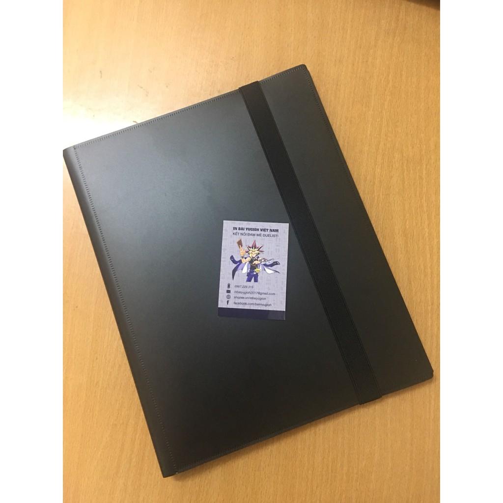 Album Sưu tập Thẻ bài – màu ĐEN (360 cards)