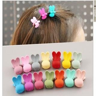 3 kẹp tóc thỏ nhiều màu Song An Eco