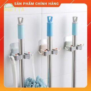 [SIÊU CHẮC] Móc dán tường dùng để treo chổi lau nhà trong nhà bếp/nhà vệ sinh tiện dụng