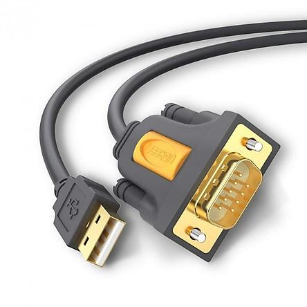 Cáp chuyển USB sang COM RS232 cao cấp Ugreen 20211 20222 20223 CR104
