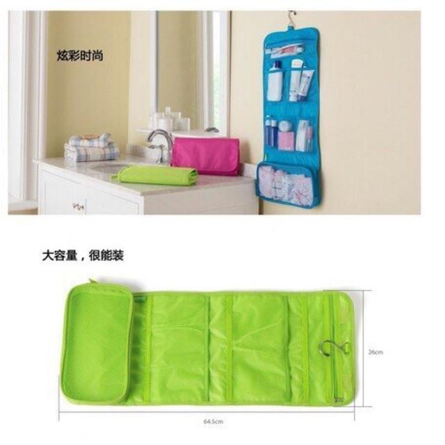 Túi đựng mỹ phẩm gấp gọn - 3131287 , 1058054226 , 322_1058054226 , 80000 , Tui-dung-my-pham-gap-gon-322_1058054226 , shopee.vn , Túi đựng mỹ phẩm gấp gọn