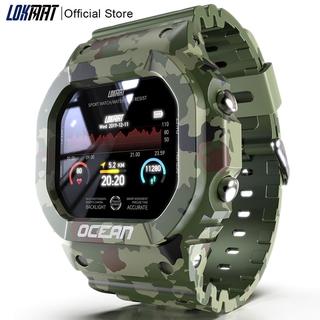Đồng hồ đeo tay thông minh LOKMAT theo dõi nhịp tim/ huyết áp/ đẩy tin nhắn cho nam