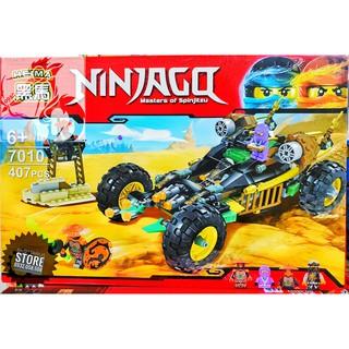 Lego Lắp Ráp Xe Đua Ninjago ( 407 Miếng )