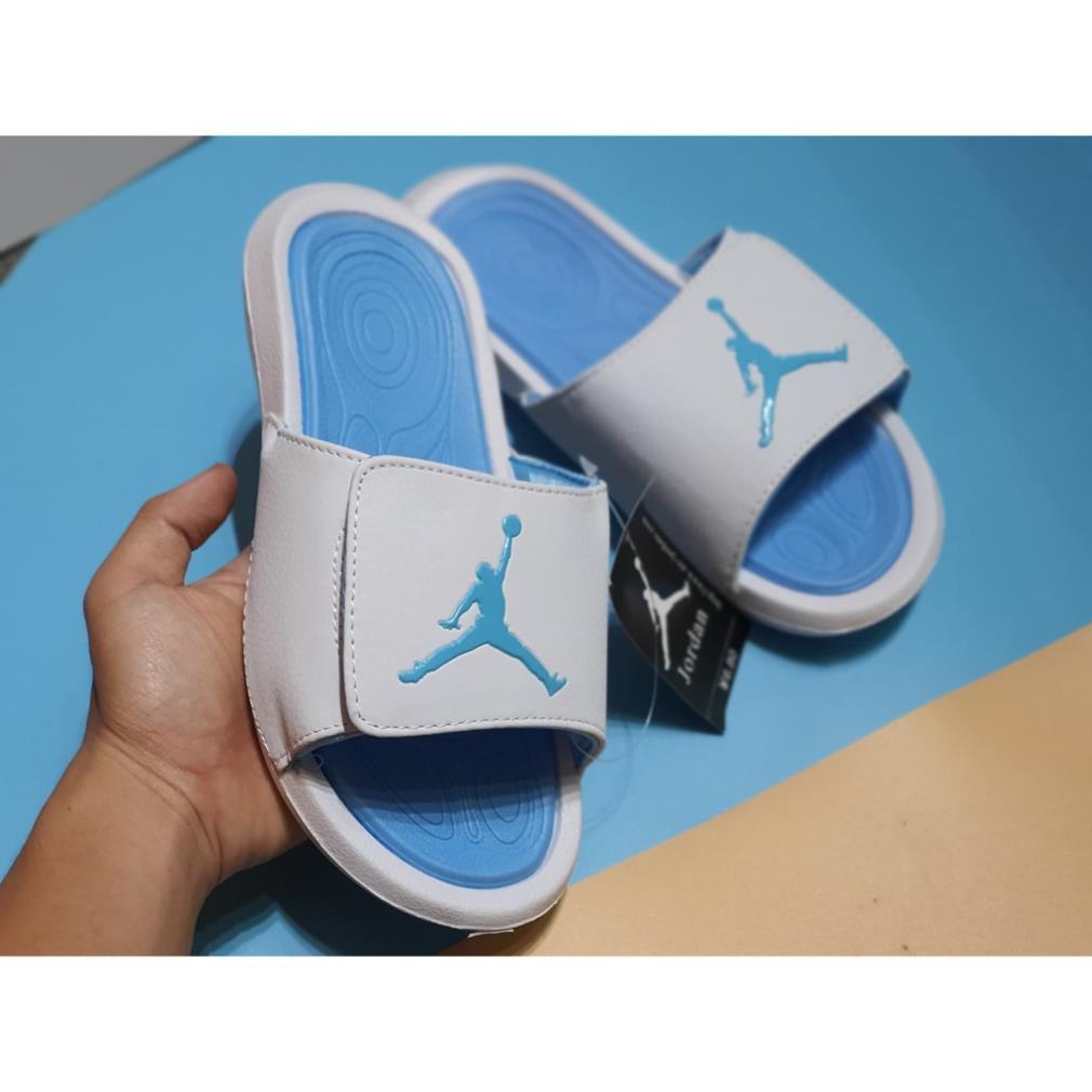 Full Box - Dép quai ngang Jordan thể thao xanh dương | Dép nam| Dép nữ| Dép thể thao| Dép đẹp