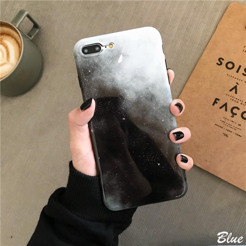 △INS star Apple xs max phone shell Iphone7/8plus personality 6s All-inclusive soft silicone XR men and women