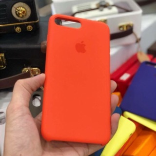 Ốp silicon cho iphone 6,7,8 và Plus đủ 40 màu.