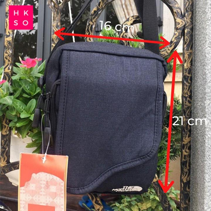 Túi đeo chéo nam nữ The North Face thời trang nhiều ngăn nhiều màu