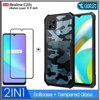 Ốp lưng kính cường lực chống sốc cho Realme C25s thumbnail