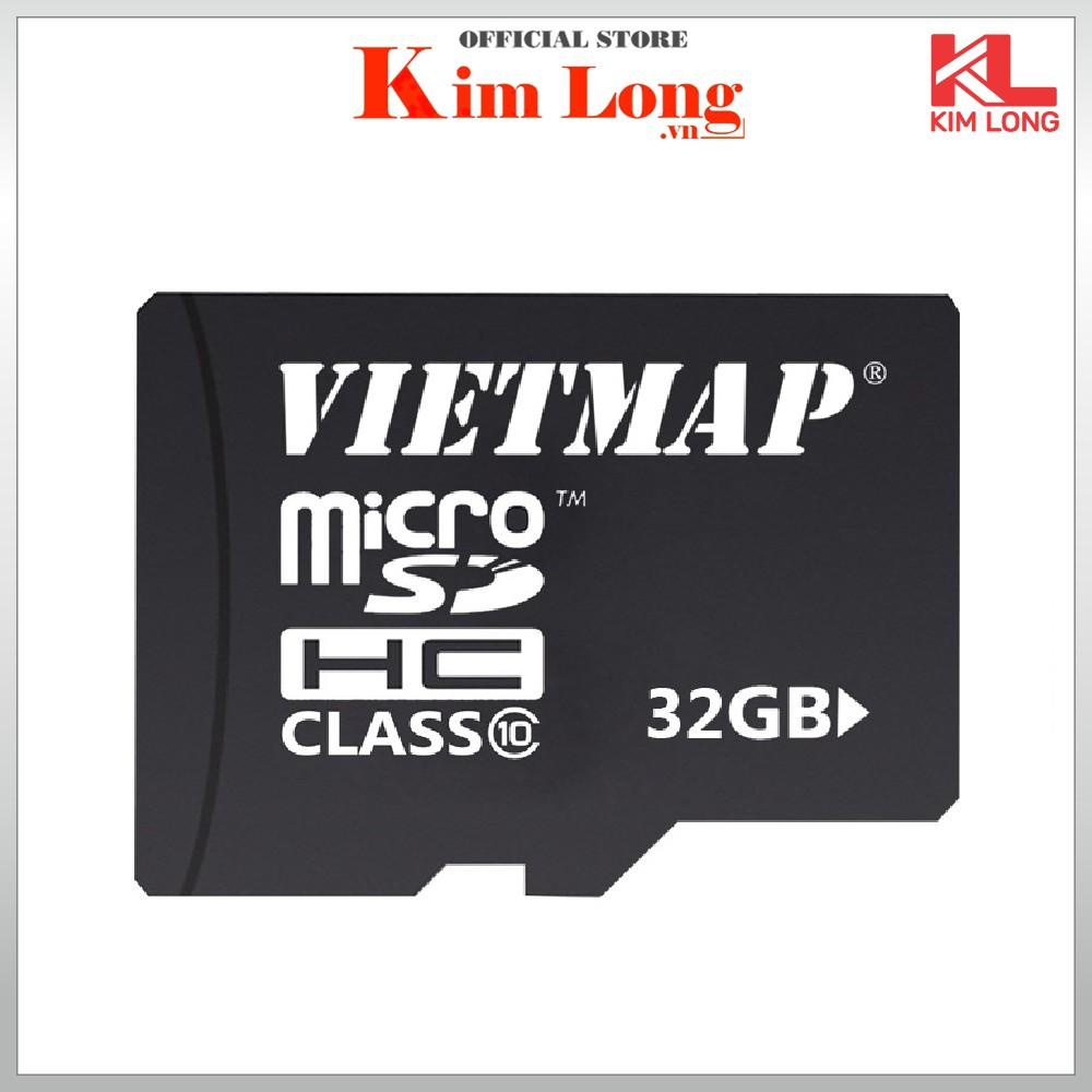 Thẻ nhớ Vietmap 32GB Micro SD chuẩn class 10 ( Không phải là thẻ phần mềm dẫn đường)