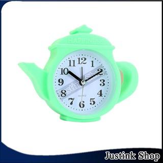 Đồng hồ để bàn trang hình bình nước dễ thương dễ sử dụng cho bé
