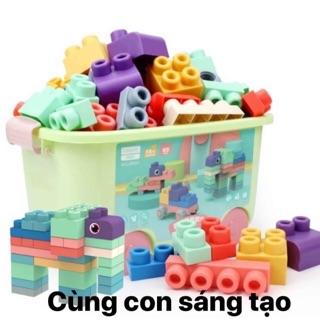 LEGO NHỰA DẺO WOOLLY TRAILER BIN sản phẩm yêu thích số 1 của ba mẹ