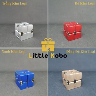 Lập Phương Vô Cực Infinity Cube Kim Loại 500g