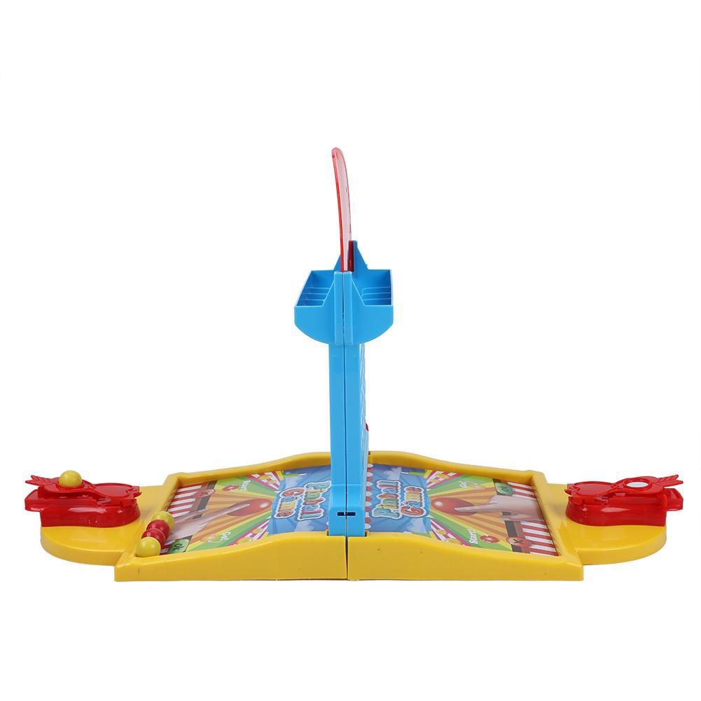 Interesting Shooting Basketball Toy Set Kids Children Educational Interactive Pinball Game