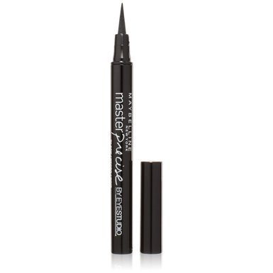 Bút Dạ Kẻ Mắt Maybelline Màu Đen Master Precise Liquid Eyeliner 1.1ml